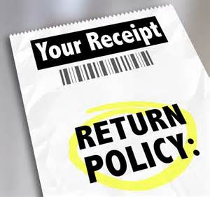 Store Return Policies Online
